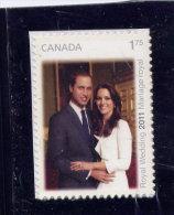 CANADA, 2011,  #2467,  ROYAL WEDDING - Carnets