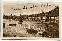 - 1 - HUELVA - Muelle De Rio Tinto, Barques, Non écrite, Coins Impeccables, Peu Courante, TBE, Scans. - Huelva