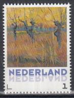 Nederland - Vincent Van Gogh - Uitgiftedatum 5 Januari 2015 -  Landschappen - Knotwilgen Bij Zonsondergang  - MNH - Netherlands