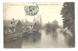 Cp, 27, Pacy-sur-Eure, Les Bors De L'Eure, Voyagée 1908 - Pacy-sur-Eure