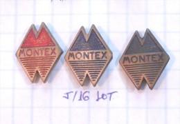 MONTEX Novi Sad (Serbia) Yugoslavia / Furniture Meubles Möbel  / LOT PINS - Badges