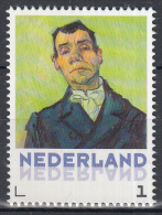 Nederland - Vincent Van Gogh - Uitgiftedatum 5 Januari 2015 - Portretten - Portret Van Een Man - MNH - Netherlands