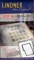 1000 Klebe-Falze Vorgefalzt Neu 3€ Gummierter Falz Für Traditionelles Sammeln Von LINDNER New Joins Fold In Germany - Lots