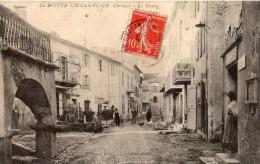 LA MOTTE-CHALANCON LE BOURG ANIMEE - France