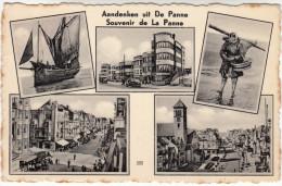 De Panne, La Panne, Aandenken Uit De Panne, Souvenir (pk16059) - De Panne
