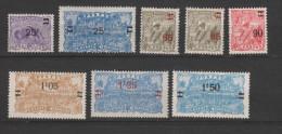 Yvert 97 / 104 * Neuf Charnière - Unused Stamps