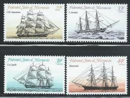 """Micronesia     """"Ships""""     SC# 23, C10-12     MNH** - Micronesia"""