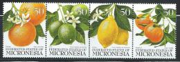 "Micronesia     ""Citrus Fruits""      Strip Of 4      SC# 248  MNH** - Micronesia"