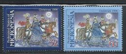 """Micronesia     """"Christmas 1996""""      Set     SC# 251-52  MNH** - Christmas"""