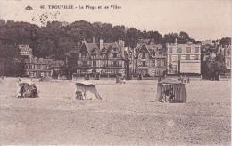 CPA Trouville - La Plage Et Les Villas - 1925 (12207) - Trouville