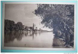 N286 LE RHONE A AVIGNON TOUR DE PHILIPPE LE BEL 1931 2 SCANS - Avignon