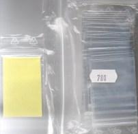 Kleinste Polybeutel 200x Mit Verschluß Neu 3€ Zum Schutz/Einsortieren #780 Lindner 40x60mm For Pin,coins,stamps Of World - Pin