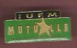 42166-Pin's.IUFM.education Nationale.mutuelle.Université. - Administrations