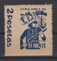 01976 Sia Paquetes Al Frente 2 Pts Guillamon 1629 ** - Viñetas De La Guerra Civil