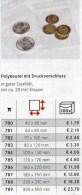 1x100xPolybeutel #782 Größer Mit Verschluß Neu 2€ Zum Schutz/Einsortieren Lindner 70x100mm For Pin Coins Stamps Of World - Loten