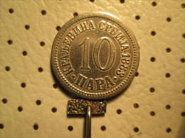 SERBIA 10 Para 1883    # 1 - Serbia