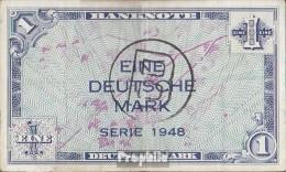 RFA (FR.Allemagne) Rosenbg: 233a Avec B-cachet Problème Pour West-berlin Utilisé (III) 1948 1 Allemand Mark - [ 7] 1949-… : FRG - Fed. Rep. Of Germany