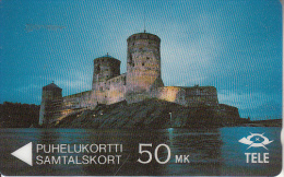 FINLAND(GPT) - The castle Olavinlinna, CN : 5FINA, 09/91, used