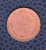 Royaume Uni 1971 Pièce De Monnaie Coin Elizabeth II 1/2 Demi Penny - 1971-… : Monnaies Décimales