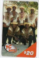 SAINT MARTEEN  TELCELL 20 $ - Antilles (Neérlandaises)