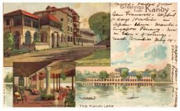 21846  Ceylon Kandy 1908  Greetingds From Kandy - Sri Lanka (Ceylon)