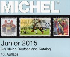 MlCHEL Junior Briefmarken Katalog 2015 Neu 10€ Deutschland DR III.Reich Danzig Saar Berlin SBZ DDR BRD 978-3-95402-094-2 - Pin's & Anstecknadeln