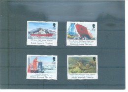 BRITISH ANTARCTIC 185/188 (4V) 1991 MICHEL - Territorio Antártico Británico  (BAT)