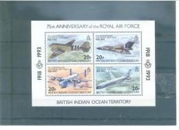 BRITISH INDIAN  140/143  (4V) 1993- MICHEL - India (...-1947)