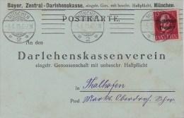 Bavaria; Postcard 1919 - Bavière