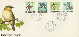 Singapore 1978 Birds FDC - Singapore (1959-...)