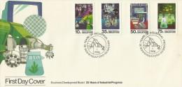 Singapore 1986 Economic Development Board FDC - Singapore (1959-...)