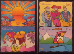 United Nations Geneva  MNH** 2002 Mi # 444/447 - Office De Genève