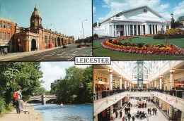 Postcard - Leicester, Leicestershire. LE-0028 - Leicester