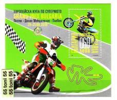 BULGARIA  / Bulgarie   2009    European Cup In Supermoto - Grand Prix  S/S- MNH - Blokken & Velletjes