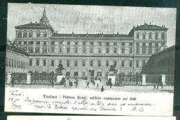 TORINO .Palazzo  Reale; Edifizio Cominciato Nel 1660  - Fas140 - Palazzo Reale