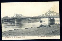 Cpa De Belgique Seraing Le Nouveau Pont   JA15 39 - Seraing