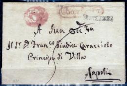 Terlizzi-00796b - Cancelleria Appoggiata A Barletta. - 1. ...-1850 Prefilatelia
