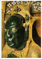 München - Residenz  Schatzkammer Mexikanische Maske - Muenchen