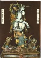 PR124 - POSTAL - SANTIAGO DE COMPOSTELA - IMAGEN DEL APOSTOL SANTIAGO - Santos