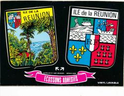 LA REUNION CP ECUSSONS ADHESITS - La Réunion