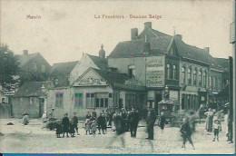 (K944) Menin. La Frontière. Douane Belge. PRACHTKAART. RARE RARE !!! - Menen