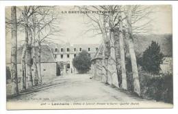 22/ COTES D´ARMOR ... LAMBALLE. Château De Lescouët ( Pendant La Guerre: Quartier Ducret) - Lamballe