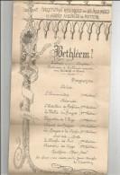Programme Institution Régionale Des Sours-muets Et Jeunes Aveugles De POITIERS , 1918 , BETHLEEM ! - Programas