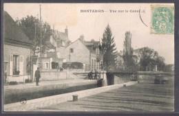 MONTARGIS . Vue Sur Le Canal . - Montargis