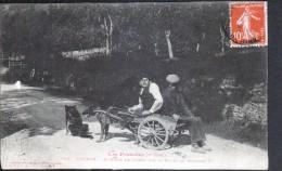 31, LUCHON, ATTELAGE DE CHIENS SUR LE ROUTE DE MONTAUBAN - Luchon