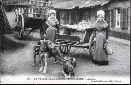08, LA VALLEE DE LA SEMOIS PITTORESQUE, LAITIERES, VOITURE A CHIENS - Autres Communes
