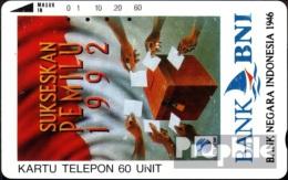 Indonésie 1210 60 Eh Utilisé Sukseskan Pemilu 92 - Indonésie