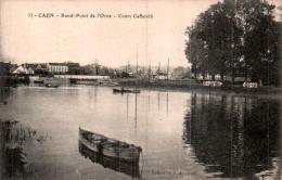 14 CAEN ROND POINT DE L'ORNE COURS CAFFARELLI PAS CIRCULEE - Caen