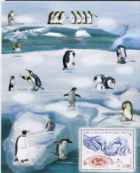 Taaf 2013 - Bloc Les Manchots ** - French Southern And Antarctic Territories (TAAF)