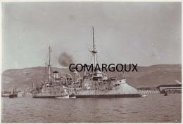 Marine fran�aise - Photographie originale du croiseur de 1� classe D'ENTRECASTEAUX (1896-1922)